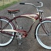1948 AS Schwinn B-607 Ballooner Postwar Autocycle Bicycle