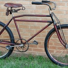 1933 Schwinn B10E MotorBike, First Fat Tire Bike