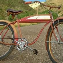 1950s CWC Made Trail Blazer Ballooner Bike