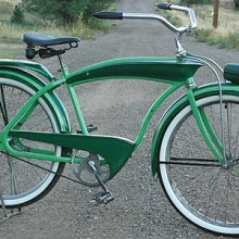 1941 Goodyear Clipper Tank Ballooner Bike made by Colson Corp.