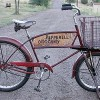 Pepperell Grocery Delivery Bike 1950 Schwinn Cycle Truck