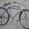Antique 1920s Wards Hawthorne Flyer Wood Wheel MotorBike