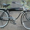 Vintage 1939 Hawthorne Zep Twin Bar Bicycle