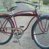 Vintage 1941 Hawthorne Comet Rat Rod Tank Ballooner Bicycle