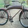 Vintage 1939 Peerless Rusto Rollfast Rat Rod Ballooner Bike