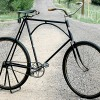 Iver Johnson Truss Bridge Spring Frame Roadster Bike