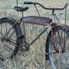1935 Antique Sears Elgin Oriole MotorBike Ballooner Bicycle