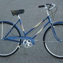Vintage 1954 Schwinn Ladies 3 Speed Varsity Lightweight Bike