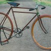 1900s Antique Reading Standard Roadster Wood Wheel Bicycle