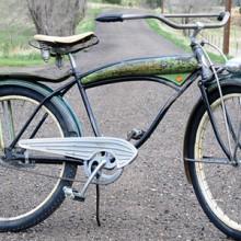 1949 Vintage Manton & Smith Golden Zephyr Bike – Lok Bicycle