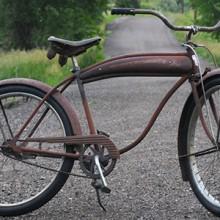 Vintage Wards Hawthorne Comet RatRod Ballooner Cruiser Bike $685