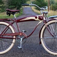 Vintage Prewar 1940 Henderson Schwinn DX Ballooner Bicycle