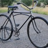 Antique 1921 Pope Columbia Wood Wheel Archbar Roadster Bike