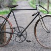 Antique 1912 Racycle Pacemaker Wood Wheel Track Racer Bike