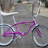 1967 Vintage Schwinn Violet Deluxe Stingray Muscle Bicycle