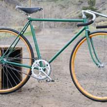 Vintage 1939 Schwinn New World Fixed Gear Track Racer Bike