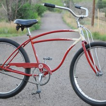 1947 Vintage BF Goodrich Schwinn DX Fat Tire Cruiser Bicycle