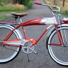 1958 Vintage Murray Deluxe Fleetline Ballooner Tank Bicycle