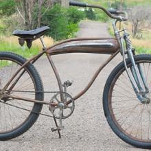 Vintage Elgin Pope Columbia Rusto Rat Rod Cruiser Tank Bicycle
