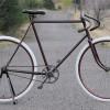 Antique 1898 Racycle Narrow Tread Roadster Wood Wheel Bike