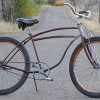 1947 Vintage Rat Rod Planes & Trains Schwinn DX Cruiser Bike $675