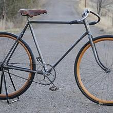 Antique 1911 Rambler Roadster Racer Wood Wheel Bicycle