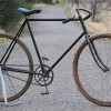 Vintage 1898 Thistle Racer / Roadster Wood Wheel Bicycle $3600