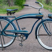 1941 Firestone Bull Nose Cruiser Prewar Colson Tank Bicycle