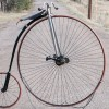 Antique 1888 Springfield Roadster Safety High Wheel Bicycle $9500