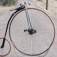 Antique 1888 Springfield Roadster Safety High Wheel Bicycle