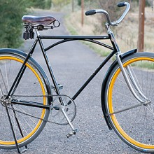 Vintage Iver Johnson Superior Truss Bridge Roadster Bicycle $2800