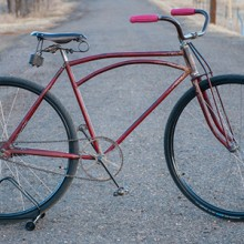Vintage 1917 Schwinn Built Hawthorne Arch bar Truss Bicycle $2250