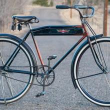 Vintage 1920s Schwinn Built Hibbard Motobike Cruiser Bicycle