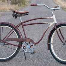 1948 Vintage Planes & Trains Schwinn DX FatTire Cruiser Bike $880