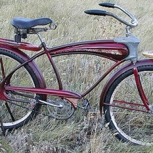 1939 Mercury Streamlined Bicycle