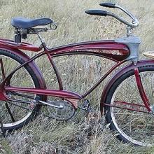 1939 Mercury Streamlined Bicycle