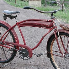 1940-41 Sears Elgin Special Deluxe Hanging Tank Bike