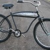 Vintage CWC LL Custom Rat Rod Fat Tire Tank Cruiser Bicycles