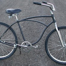The Deibo: Lux Low's Recycled Vintage Schwinn Cruiser Bike $480