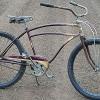 1940 Prewar Dayton Huffman Fat Tire Cruiser Bicycle