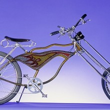 1998 Luxury Lowrider Flame Chopper Cruiser Bicycle