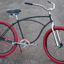 The Mad Deibo! Rat Rod Recycled Vintage Schwinn Cruiser Bike $420