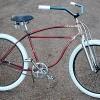 1950 Vintage Schwinn StraightBar FatTire RatRod Cruiser Bike