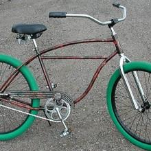1952 Vintage Schwinn StraightBar Lucky FatTire RatRod Cruiser Bike