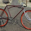 Antique Iver Johnson Truss Bar Fixed Gear Track Racing Bike