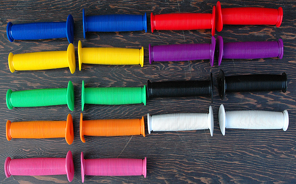 Grips: Turbo Fixie Old School BMX Mushroom Grips comes in Many Colors