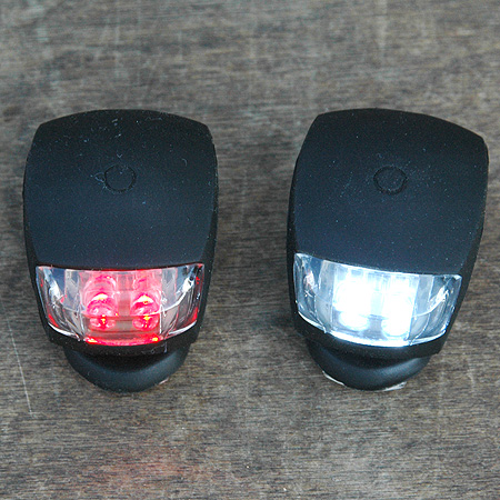 Light: NogOffs Lights Gel Clamp on Bike Lamps