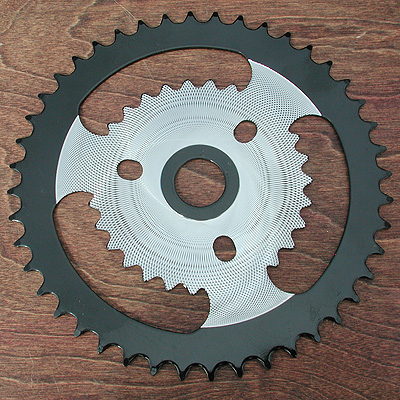 Sprocket: Chopper Bicycle Rotor X 44 Tooth Sprocket