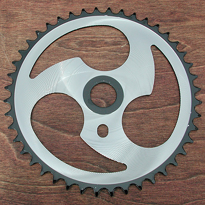 Sprocket: Chopper Bicycle Wicked 3 Tear 44 Tooth Sprocket
