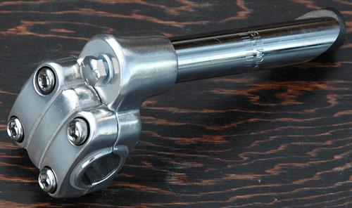 21.1mm BMX Bike Quill Stem 4-Bolt Alloy Blue New